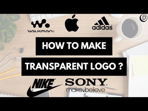 How to make transparent logo Icon Tutorial in Inkscape