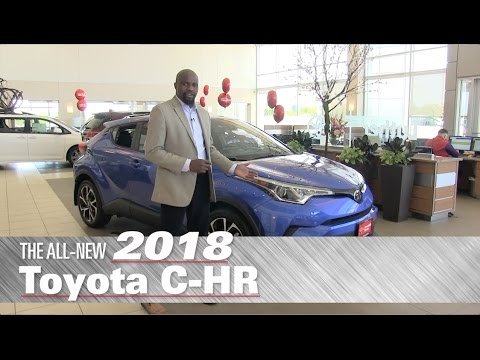 The All-New 2018 Toyota C-HR XLE Premium - Minneapolis, St Paul, Brooklyn Center, MN - C-HR Review