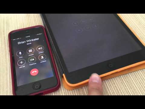 iOS 8 iPhone and iPad Why is my IPad ringing? How to take phone calls on your iPad using ios8!