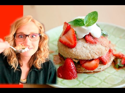How to Make Strawberry Basil Shortcakes