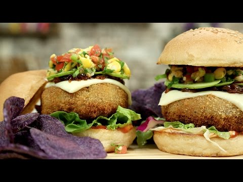 How To Make Veg Cheese Burger | Veg Cheese Burger Recipe | The Bombay Chef - Varun Inamdar