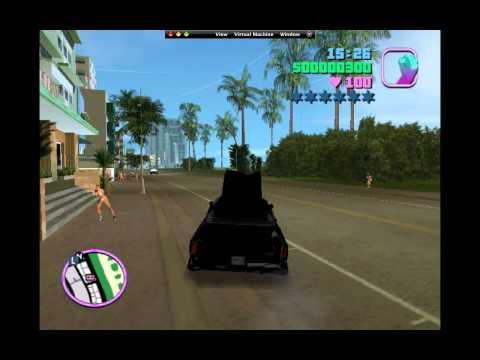 Play GTA Vice City Game in MAC OS X ( Windows XP running on MACBook Pro