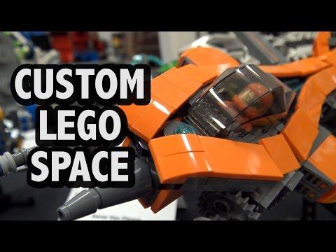 Unique Custom LEGO Spaceships | BrickCon 2016