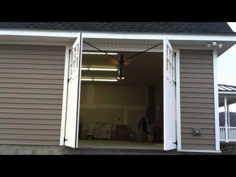 Carriage Door - Swing Out Garage Door