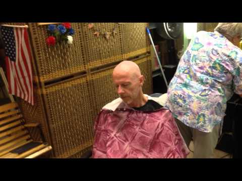 Pat Gets His Head Shaved