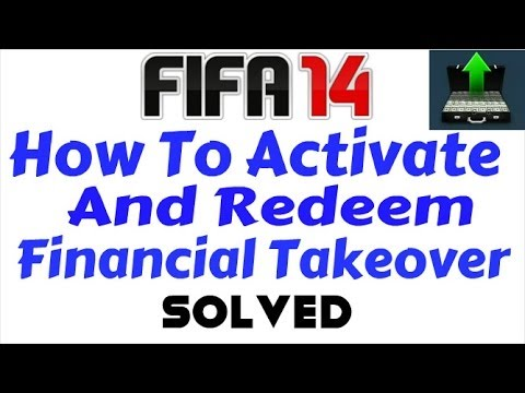 How To Enable & Redeem FIFA 14 Financial Takeover
