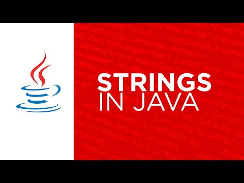 core java - string in java part 1