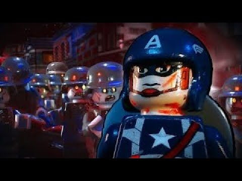 LEGO CAPTAIN AMERICA NAZI ZOMBIES!