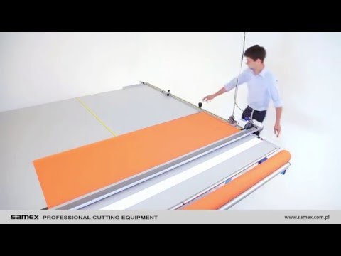 Roller blinds cutting table RollMaster 250 - SAMEX