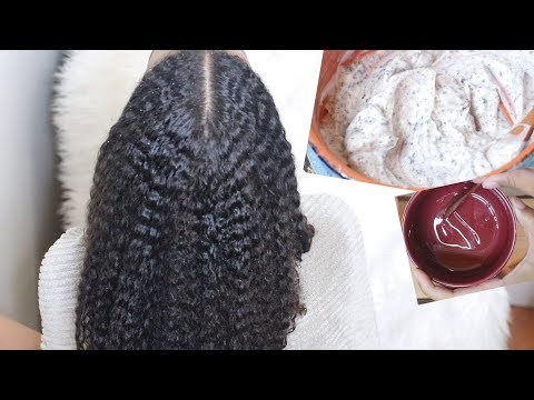 Extreme Deep Conditioning & Hot Oil Treatment for Rapid Hair Growth | Natural Hair