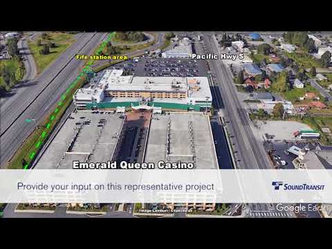 Tacoma Dome Link Extension Project Flyover Final