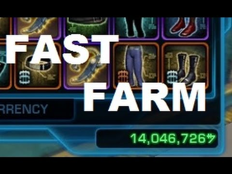 SWTOR:Credits Farm 1m Per Hour (Working on 4.0)2016