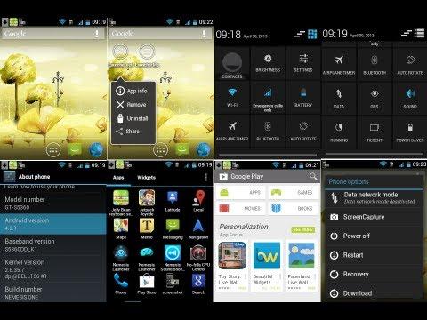 Installing Nemesis (JellyBean 4.2.1) Custom Rom on Samsung Galaxy Y S5360