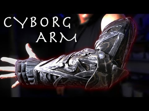 How To Make a Justice League $15 CYBORG ARM! - Amazing Results (Easy Build, Foam + Glue!!!)