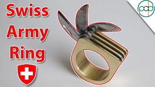 Making a Swiss Army Ring