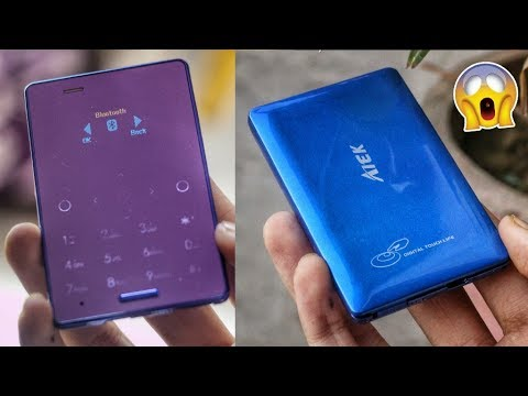 WORLD'S SMALLEST TOUCH SCREEN PHONE UNBOXING | 1000 RUPEES ONLY | Cool Gadgets New Tech