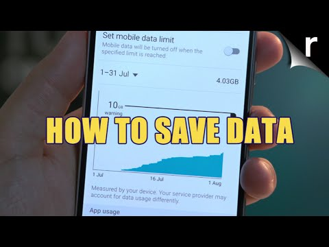 How to use less data on your mobile phone