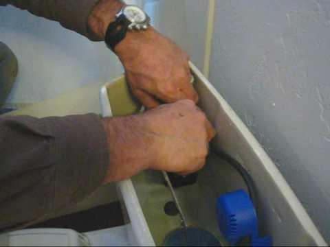 Toilet Ballcock Valve Cleaning and Repair - Flowmax valves