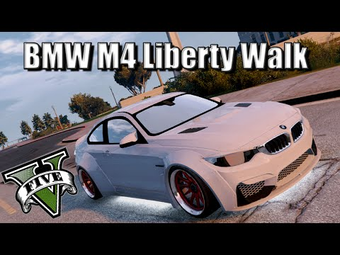 GTA V -  BMW M4 Liberty Walk Edition Car ShowCase!