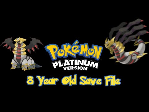 8 Year Old Pokemon Save File - My First Pokemon Game