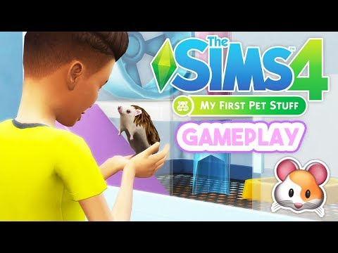 CUTE LITTLE HEDGEHOG!🦔 // MY FIRST PET STUFF🐹 | GAMEPLAY OVERVIEW – THE SIMS 4