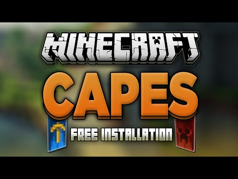 How to Install Minecraft Capes Mod! (Minecon/Optifine/Custom Capes)