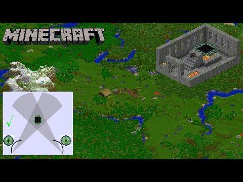 Comment trouver un stronghold en 5 min - Minute Minecraft