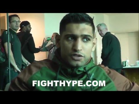 AMIR KHAN SPEAKS DAY AFTER KO LOSS TO CANELO; TALKS FIGHT AND FUTURE PLANS