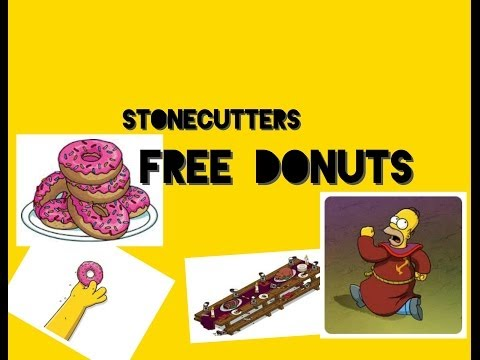 Stonecutters FREE DONUTS!!!! - Simpsons tapped out