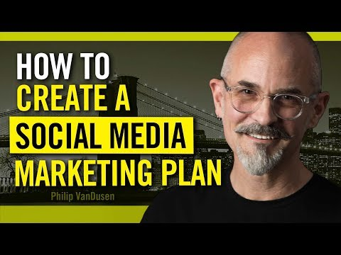 How To Build a Social Media Marketing Plan - for Entrepreneurs, Startups and Creative Pros