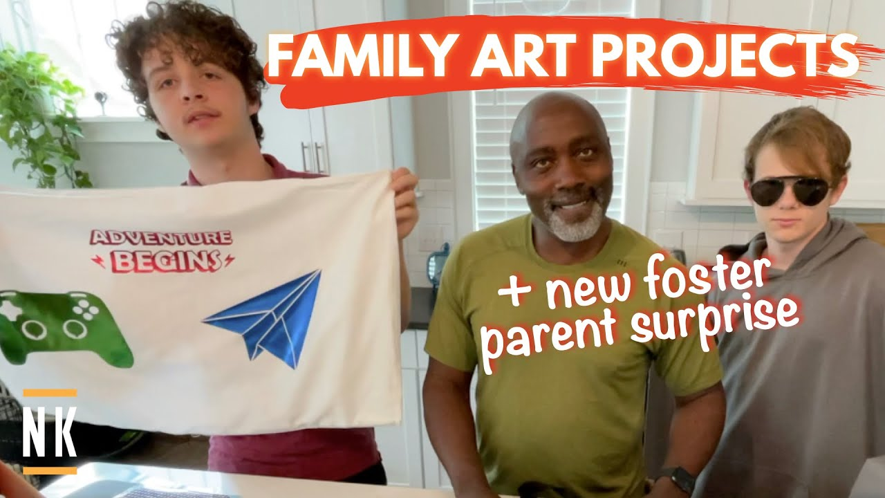 FAMILY ART PROJECTS   SURPRISING NEW FOSTER PARENTS