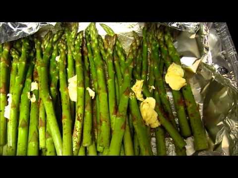 Easy Baked Lemon Butter Asparagus