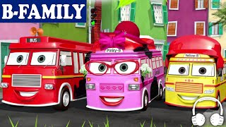 [B-FAMILY] Wheels on the Bus and More Songs | Muffin Songs