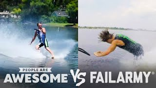 Barefoot Waterski & More Wins Vs. Fails | PAA Vs. FailArmy!