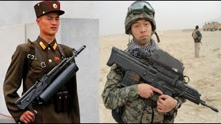 Korean Weapons : North Korea vs South Korea - Infantry Weapons - youtube ✔