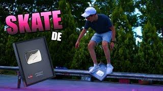 HAGO UN SKATE CON EL BOTÓN DE PLATA DE YOUTUBE!! [bytarifa]