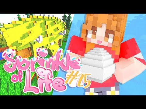 Potions and Building - part 25 | Minecraft Sprinkle Of Life + World Download