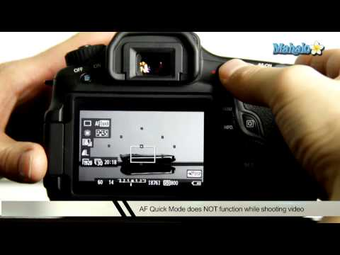 How to Use Auto Focus in Movie Mode on a Canon 60D DSLR