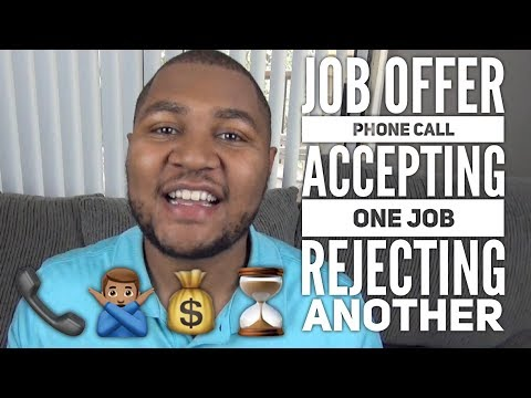 Job Offer Phone Call | Turning Down a Job Offer and Accepting Another (TSS Ep. 16)