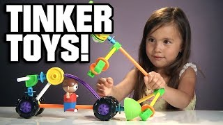 Jillian Plays With Tinker Toys!!! Throwback Thursday Time Warp!