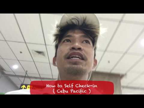 How to Self Check in with Cebu Pacific | Going out after Check-in
