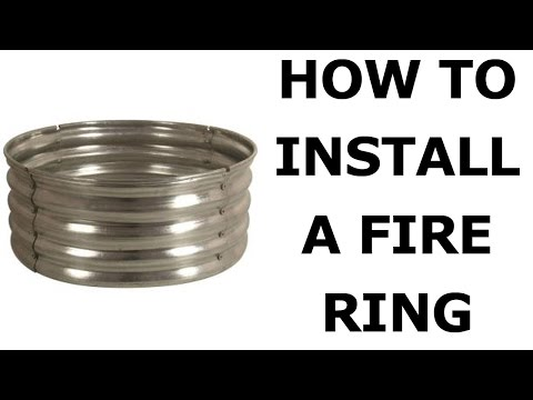 How To Install a Fire Pit in YOUR Yard for Less than $50
