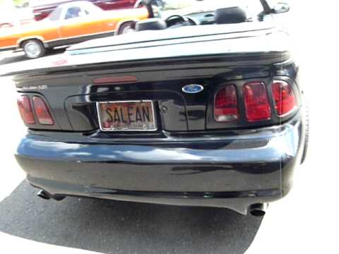 1996 Ford Mustang Saleen s-281 Convertible for Sale
