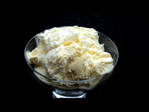 DECADENT VANILLA ICE CREAM