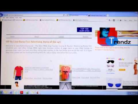Free eBay Advertising Auction Bump Site Increase Sales, Traffic