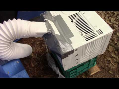 DIY TENT AC CAMPING