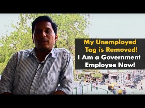 My unemployed tag is Removed! I am a Government Employee now!