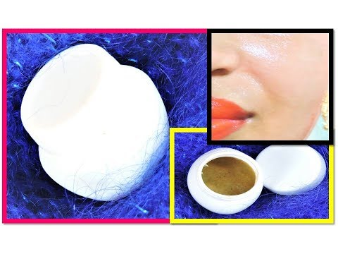 Control Oil Secretion / Homemade NIGHT CREAM for OILY SKIN get Fair Oil Free Skin in Hindi