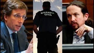 """Almeida, sobre el escrache a Pablo Iglesias: """"Debería salir y dar las gracias a la Guardia Civil"""""""