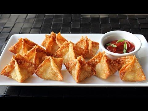Crab Rangoon - Crispy Crab & Cream Cheese Wonton Recipe